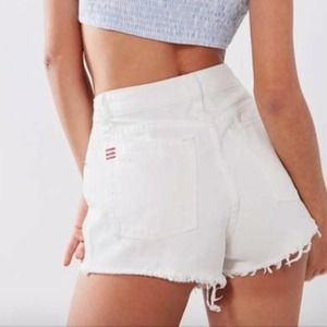 BDG   Studded High Rise Dree Cheeky Shorts Size 27
